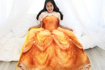 These Disney Princess Blankets Will Turn You Into Pure Royalty