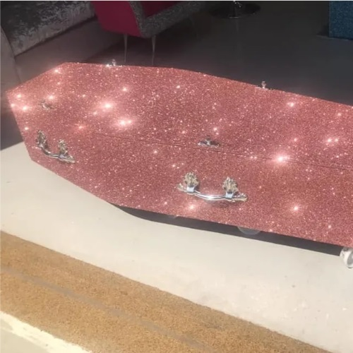 These Glitter Coffins Will Ensure You Go Out Of This Life In Style
