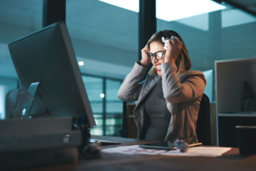 Office Workers Swear 55 Times A Week On Average, Study Finds