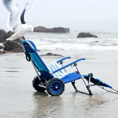 This Beach Lounger Turns Into A Wagon And It Needs To Be Summer Again NOW