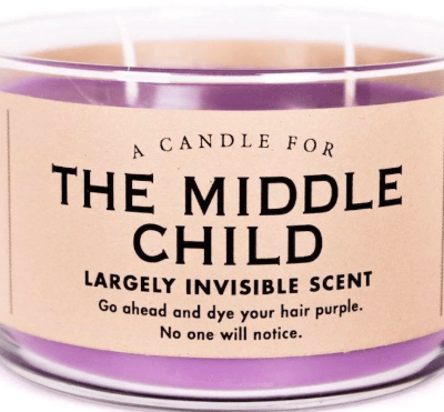 "This Middle Child Candle Has A ""Largely Invisible"" Scent — Talk About A Burn!"