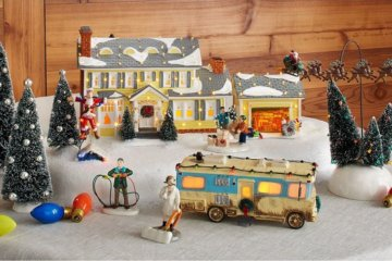 This National Lampoon's 'Christmas Vacation'-Themed Ceramic Village Brings The Movie Straight To Your Home