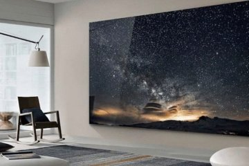 Samsung Has Made A Giant 219-Inch TV Called 'The Wall' And It's Incredible