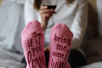 These Wine Socks Are The Perfect Gift For Anyone Who Enjoys Their Vino