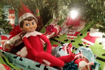 Festive Mom Accidentally Melts Elf On The Shelf In The Oven