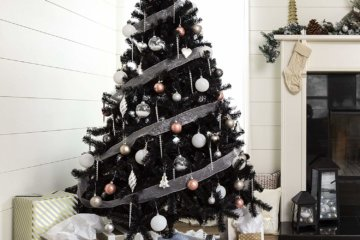 Black Christmas Trees Are Here To Fulfill Your Gothic Christmas Dreams