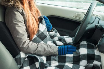 This Heated Blanket Plugs Into Your Car To Keep You Warm Even On The Road