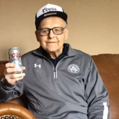 102-Year-Old World War II Vet Credits Long Life To Drinking Coors Light Every Day