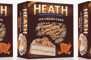 This New Heath Ice Cream Cake Is So Good, You'll Want To Eat It All In One Sitting
