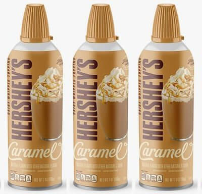 Hershey's Caramel Whipped Cream Exists And It's Over-The-Top Delicious