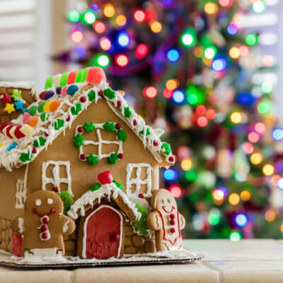 If Gingerbread Houses Aren't Your Thing, How About A Charcuterie Chalet?