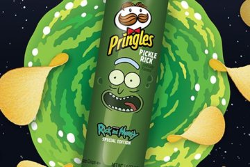 Pringles Is Releasing A Pickle Rick Flavor For 'Rick And Morty' Fans Everywhere