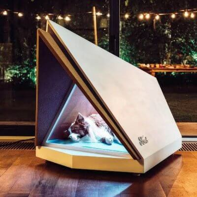 Ford Has Created A Noise-Canceling Kennel To Protect Your Dog From Fireworks And Thunderstorms