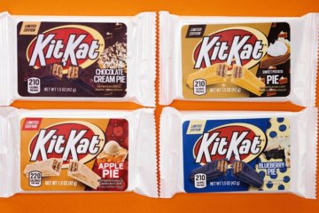 Kit Kat Is Releasing Four New Pie Flavors In 2020, So Get Ready For A Sugar Rush