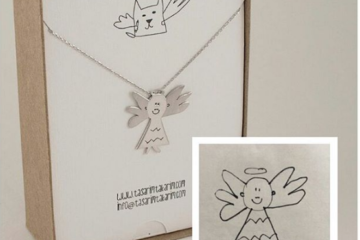 This Company Will Turn Your Kids' Artwork Into Wearable Pieces Of Jewelry