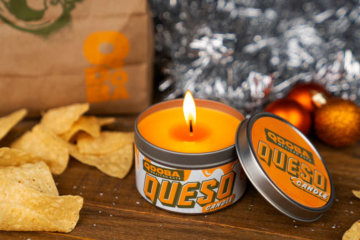 Qdoba Is Selling A Queso Candle For The Cheese Lover In Your Life