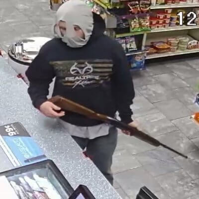 Man Uses Underwear To Disguise His Face During Gas Station Robbery
