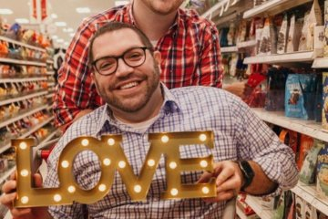 This Couple Had Their Engagement Photoshoot At Target And Nothing Has Ever Been More Romantic