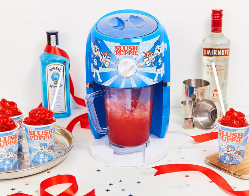 This Boozy Slush Puppie Machine Will Have You Feeling Like A (Very Drunk) Kid Again