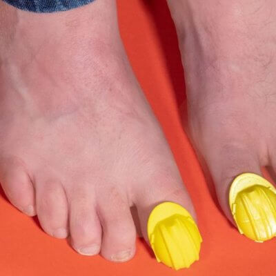 These Hard Hats For Your Toes Will Protect You From Painful Stubs