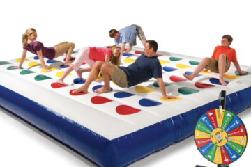 Giant Inflatable Twister Exists To Take Your Parties To The Next Level