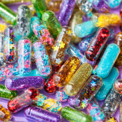 People Are Swallowing Glitter Pills To Make Their Crap Sparkle