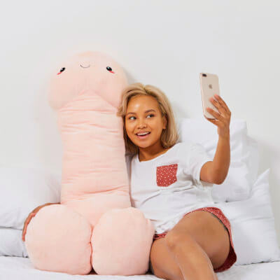 Jumbo Pierre The Willy Pillow Is Now Available In 2 Different Skin Tones For All Your Cuddling Needs