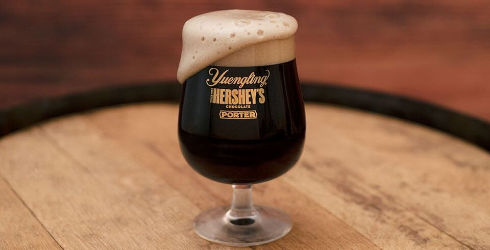 Yuengling Has Released A Hershey's Chocolate Beer, So Now Dessert Can Get You Drunk
