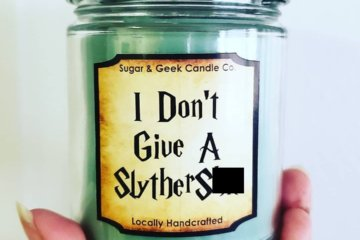 These Harry Potter House Candles Are Perfect For Potty Mouth Fans