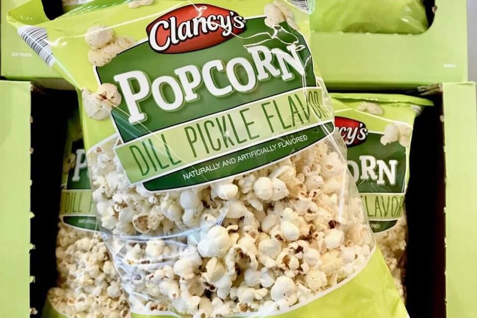Aldi Now Has Dill Pickle Popcorn To Take Your Snack Game To The Next Level