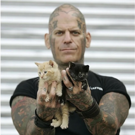 Hardcore Biker Gang Works To Save Animals From Abuse And Neglect