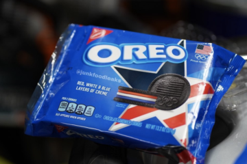 Oreo Is Releasing A 'Team USA' Cookie With Layered Red, White, And Blue Creme Just In Time For The Olympics