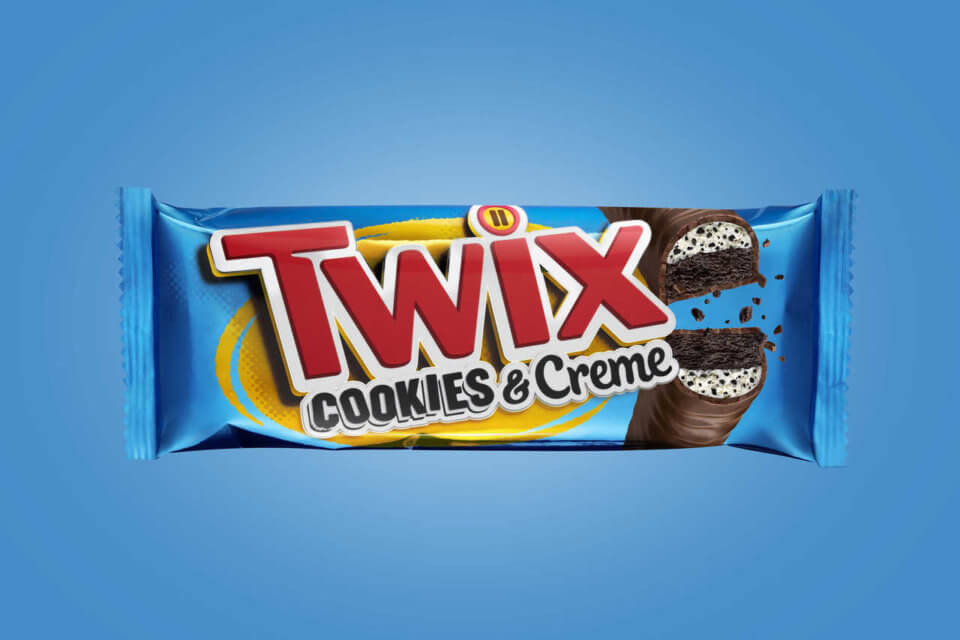 Cookies & Creme Twix Is Here To Become Your New Favorite Candy Bar