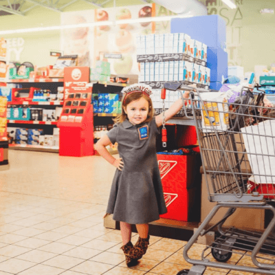 Mom Throws 4-Year-Old Daughter An Aldi-Themed Birthday Party And It Was Incredible