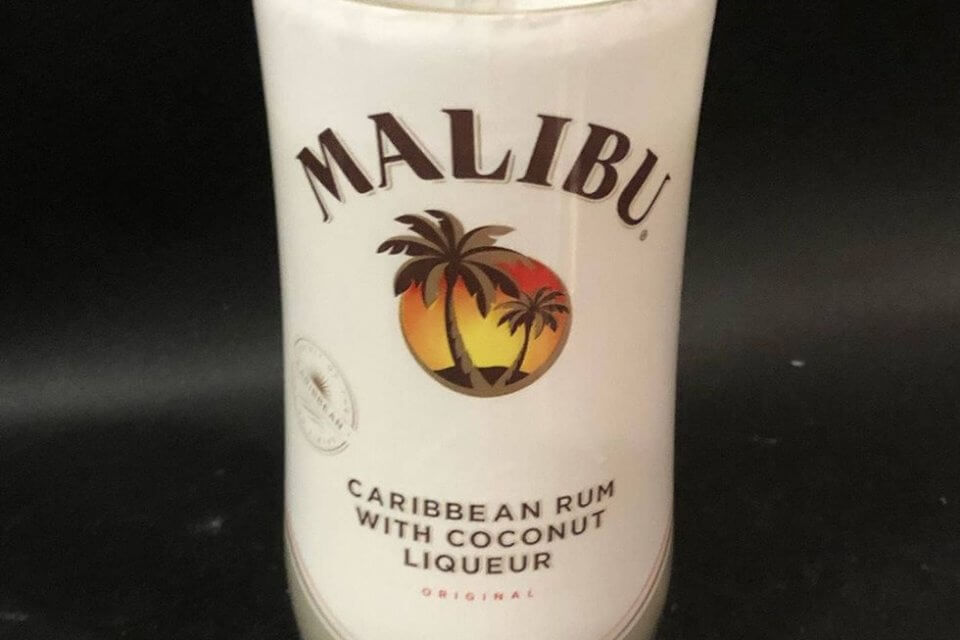 This Malibu Rum Candle Will Make You Feel Like You're Lounging On A Tropical Island