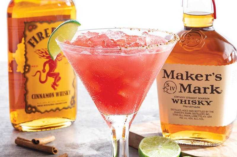 Chili's February Margarita Of The Month Is Called 'Hearts On Fire' And It Has 3 Different Types Of Alcohol