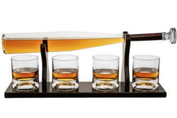 This Baseball Bat Whiskey Decanter Will Get You Ready For The Upcoming MLB Season