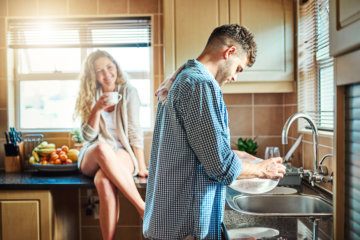 Men Who Do Household Chores Are More Sexually Attractive To Women, Research Suggests