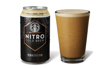 Starbucks Is Now Selling Their Nitro Cold Brew In Ready-To-Drink Cans