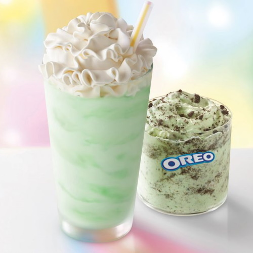 McDonald's Is Selling An Oreo Shamrock McFlurry In Addition To The Classic Shake This Year