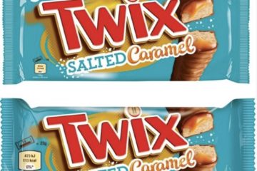 Salted Caramel Twix Are Coming To Take Your Sugar High To The Next Level