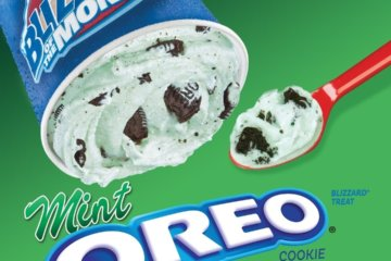 Dairy Queen Is Bringing Back The Mint Oreo Blizzard For St. Patrick's Day