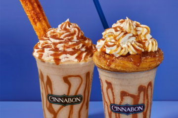 Cinnabon's Frozen Churro Chillata Is The First Thing You Need To Drink When You're Out Of Quarantine