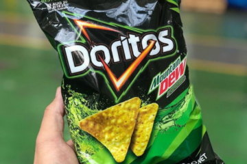 Mountain Dew-Flavored Doritos Exist To Change The Snack Game For Good