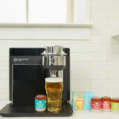 The Drinkworks Machine Will Pour You Beer On Demand, So Drink Up