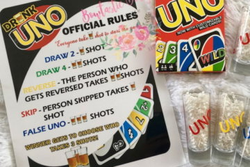 Drunk UNO Exists, So Prepare To Down A Whole Lot Of Shots