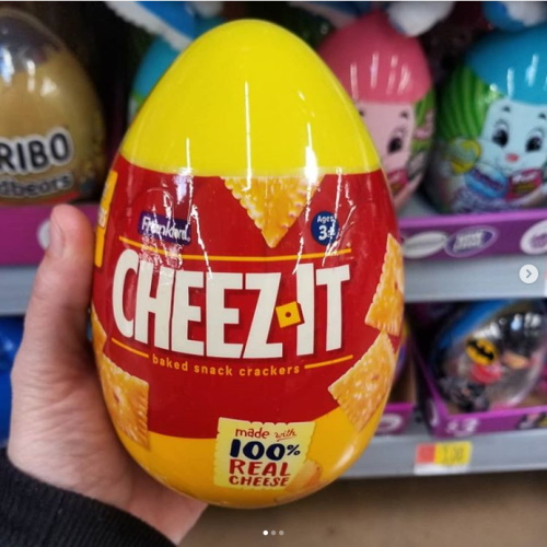 Cheez-Its Eggs Are The Perfect Easter Alternative To Chocolate