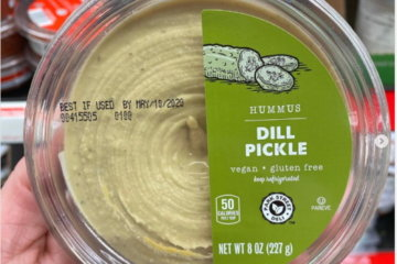 Aldi Is Selling Dill Pickle Hummus And Snacking Has Never Been So Good