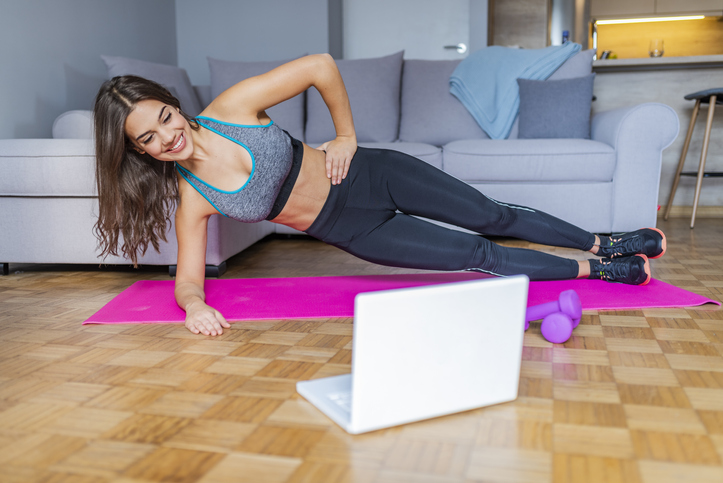 You Can Work Out While Stuck At Home With These Virtual Fitness Classes