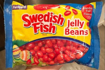 These Swedish Fish Jelly Beans Are Good Enough To Be Eaten By The Bagful